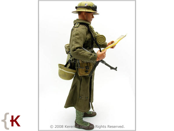 1/6 21st CENTURY GERMAN DAK AFRIKA KORPS MG-34 GUNNER